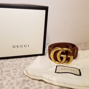 Gucci Classic Brown Leather